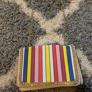 Colorful Purse with chain strap